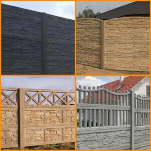 Betonové ploty, podhrabové desky, plotové podezdívky